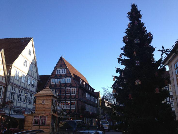 Die Vorbereitungen für den Weihnachtsmarkt 2013 laufen bereits.