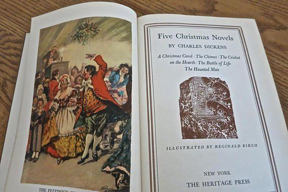 charles dickens christmas five christmas novels dickens