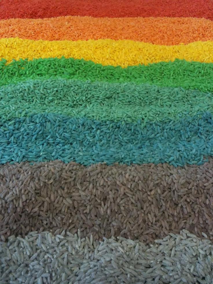 rijst / regenboog
