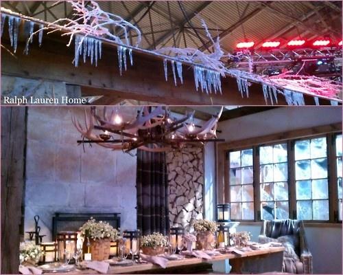 #RalphLauren table Seen at the #architecturalDigestHomeShow-  http://www.theglamclosetinc.com