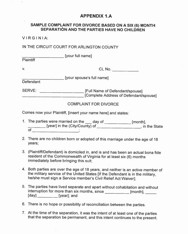 Virginia Separation Agreement Template Elegant Download Virginia Separation Separation Agreement Template Fundraising Thermometer Templates Order Form Template