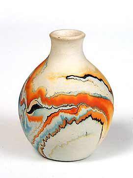 Nemadji pottery...very nice bleeding of colours