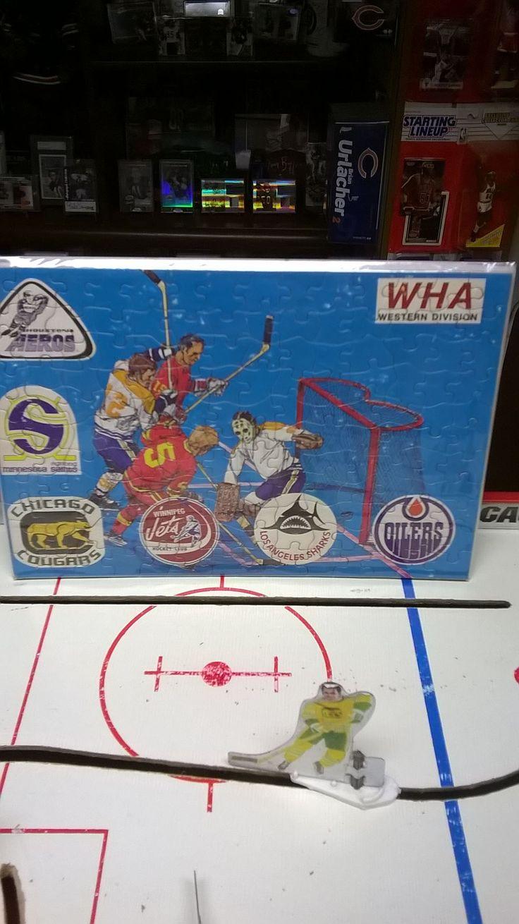Vintage table hockey - Wha Table Hockey Vintage Itemshockey