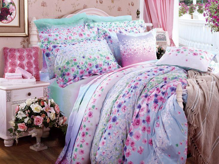 home u0026 garden for sale quilt kids bedding sets comforter satin light purple bed sets printing duvet covers
