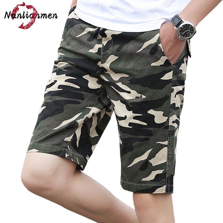 >> Click to Buy << 2017 New Camouflage Casual Shorts Men bermudas hombre Mens Camo Cargo Shorts Men's Shorts homme pantalones cortos de los hombres #Affiliate