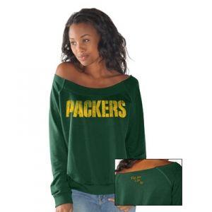 Touch by Alyssa Milano Green Bay Packers Draft Choice Sweatshirt - Mills Fleet Farm