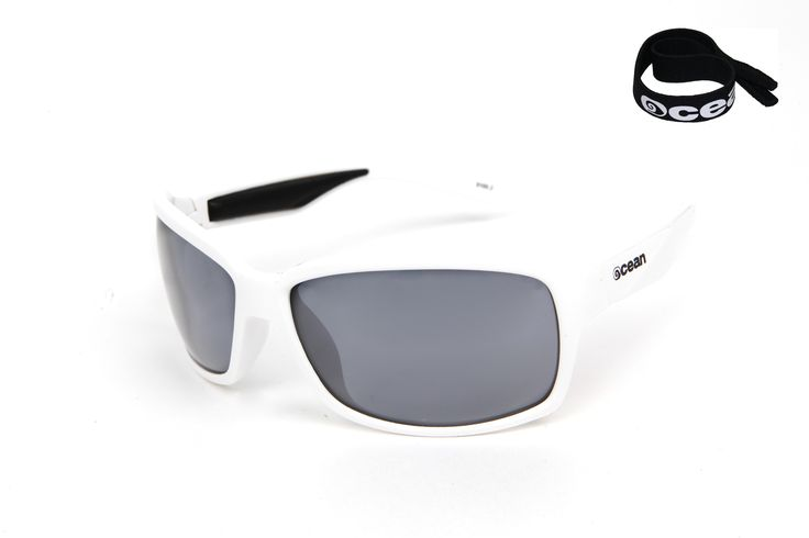 VENEZIA Frame shiny white / revo blue lens by OCEAN >> http://oceangla.nextmp.net/venezia-watersports-sunglasses.html   The VENEZIA By Ocean Sunglasses, are the perfect model to sail the seas. With a wide field of visibility and with its polarized lenses with ATOM system, offer to the water sports lovers a protection and an incomparable calmness against the solar radiation.  Perfect to practice watersports; Kitesurfing, windsurfing, Stand Up Paddle (SUP), sailing...