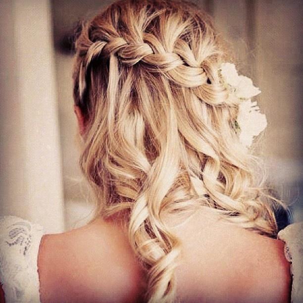 I < 3 itFrench Braids, Hair Ideas, Bridesmaid Hair, Waterfal Braids, Beautiful, Prom Hair, Hair Style, Waterfall Braids, Wedding Hairstyles
