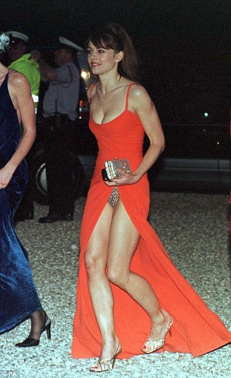 Share Elizabeth hurley upskirt message