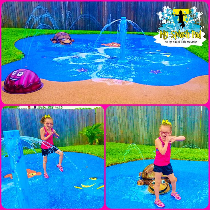 how to make your own splash pad
