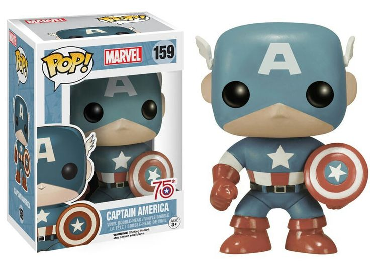 Funko Pop Marvel | Captain America 75th anniversary sepia amazon exclusive