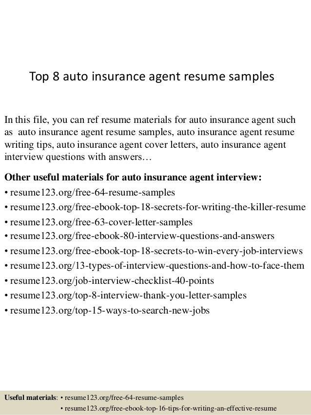 103 best auto insurance images on Pinterest - insurance broker resume