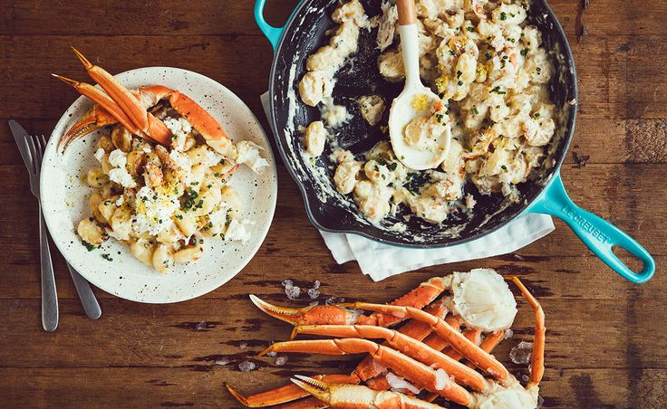 Mac & Cheese with Crab, Lemongrass and Damafro Ricotta – Week 28: Crab Shack | Natrel