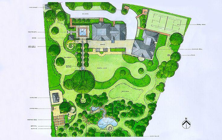 3919 best landscape plans visualization photos images for Garden design visualiser