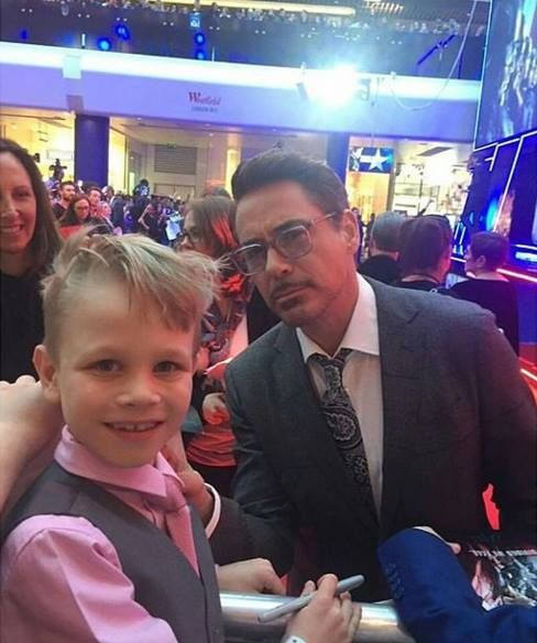 Robert Downey Jr Kids: Robert Downey Jr. Loves Meeting His Young Fans
