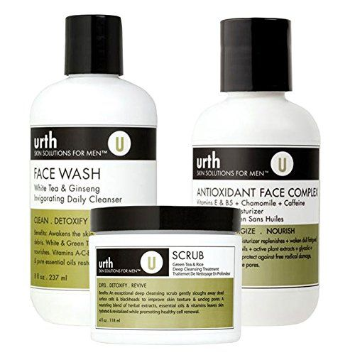Urth Skin Solutions For Men Perfect Complexion Kit for Oily Skin 3pc Set ** You can get more details by clicking on the image.