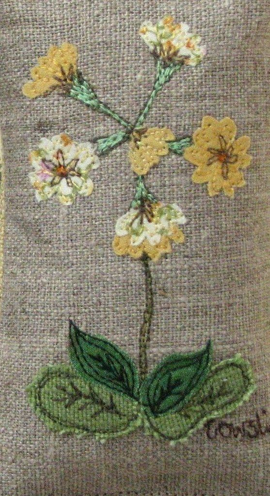 Fabric bowl - Wildflower - Cowslip