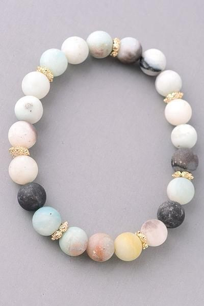 http://rubies.work/0009-shop-by-price/ Natural Stone beaded bracelet - Earth