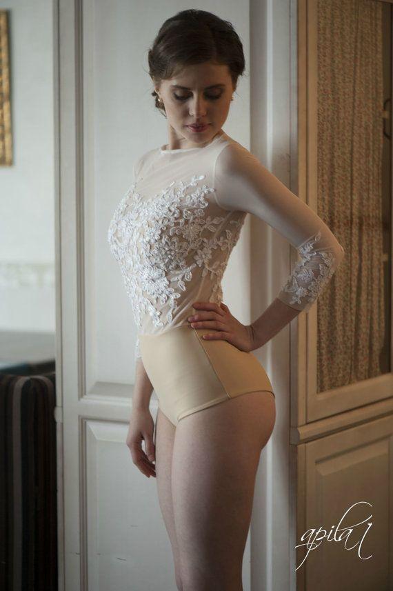 Bodice  L10, Wedding bodysuit, Bridal Top, Romantic wedding gown, Classic bridal dress, Custom dress