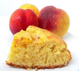 Thermomix Recipes: Peach Yogurt Cake with Thermomix