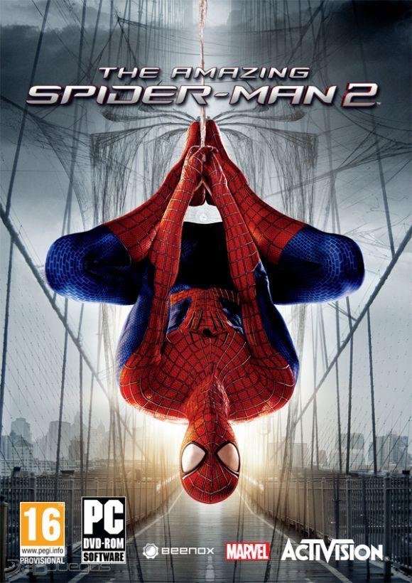 Carátula de The Amazing Spider-Man 2