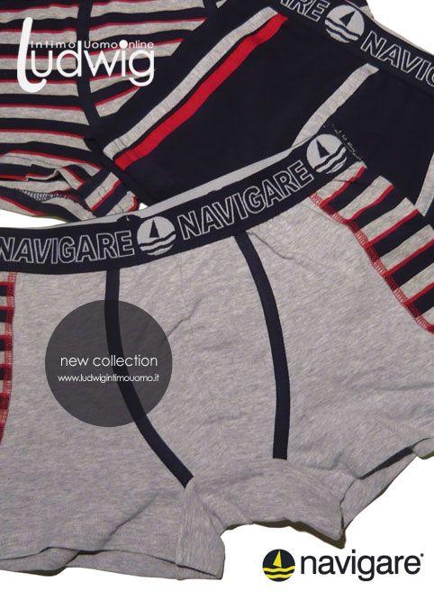 Boxer uomo, intimo uomo, intimo maschile.  Navigare underwear. New Boxer Line. --- ---- --- --- --- --- --- --- --- --- ---- ---- ---- -- Nuova collezione Boxer Uomo Intimo Navigare.  #boxer_uomo #intimo #intimo_uomo #underwear  http://www.ludwigintimouomo.it/26-boxer