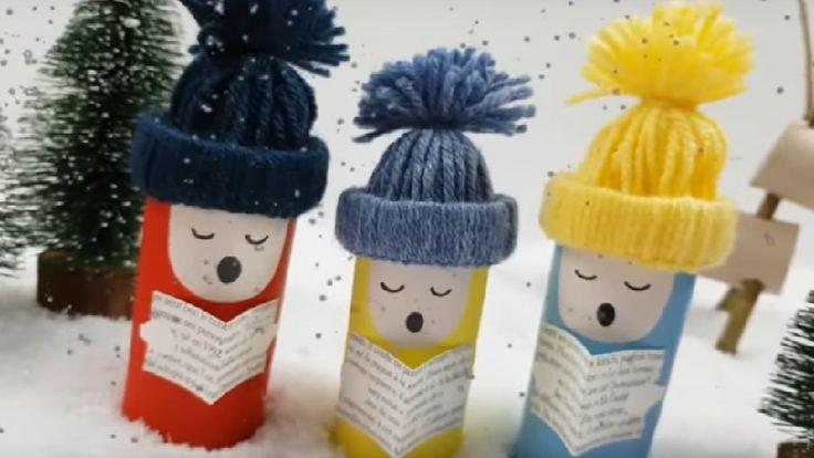 Voici de superbes décorations de Noël à faire avec des ...