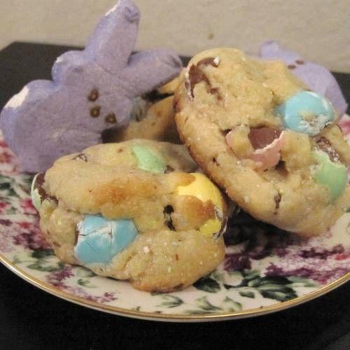 """Cadbury Mini Egg Cookies""...these are SO good. Thank you Lauren Conrad."