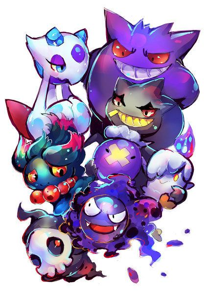 Ghost-types