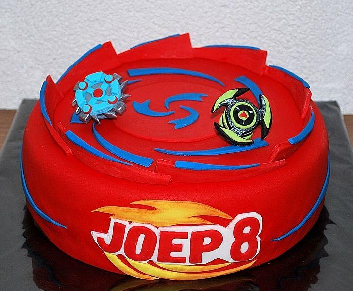 Beyblade Arena Cake - looks tricky!
