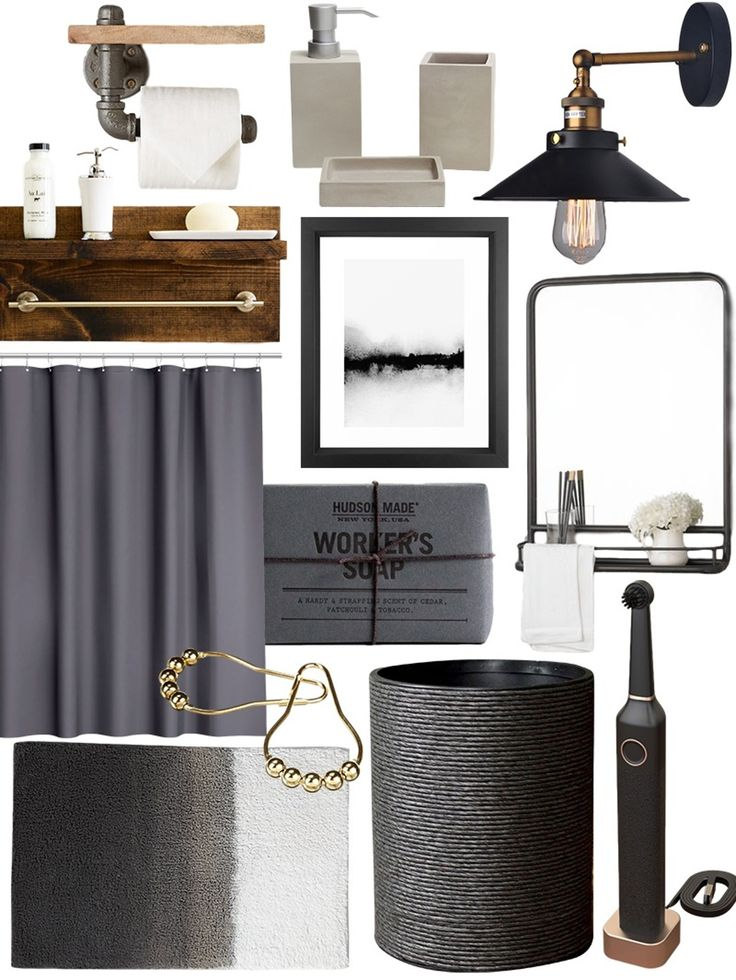 Create the Look: Warm Industrial Bathroom Shopping Guide