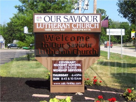 church led signs