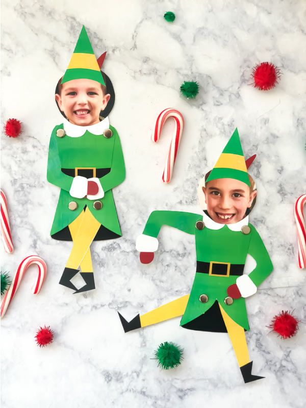 This is a photo of Shocking Elf Yourself Printable