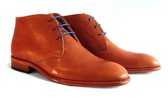 Men's Goodyear Welted Warm Tan Desert Boot