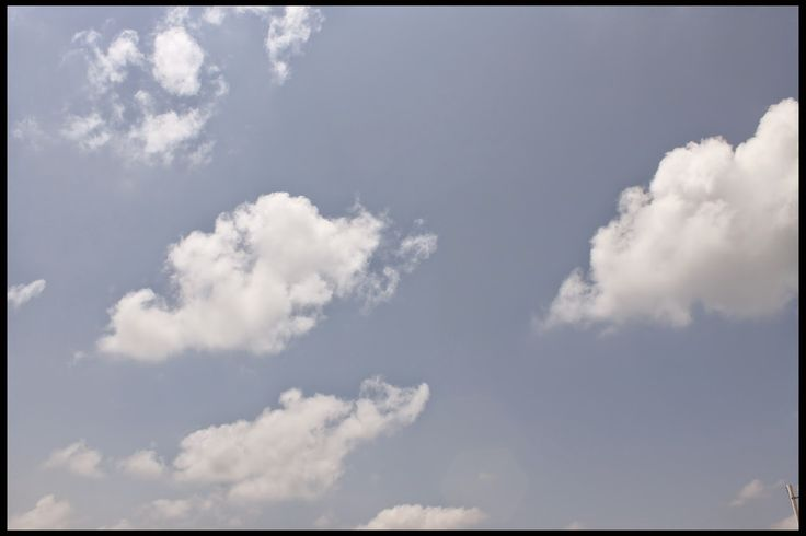 Wallpaper of partly cloudy sky