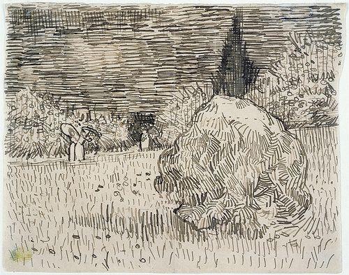 The public garden ('The poet's garden') - September 1888 -Vincent Van Gogh.