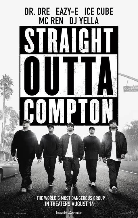 Straight Outta Compton (2015) ★8 これ系は受け付けないかもと思っていたけど、ギャング映画でも音楽映画でもなく、ちゃんとドラマのあるいい映画だった。