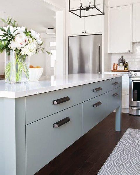 Top 70 Best Kitchen Cabinet Hardware Ideas And Pull Designs