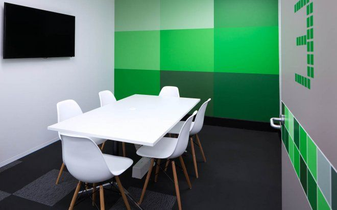 TNS Office fitout by Amicus Interiors
