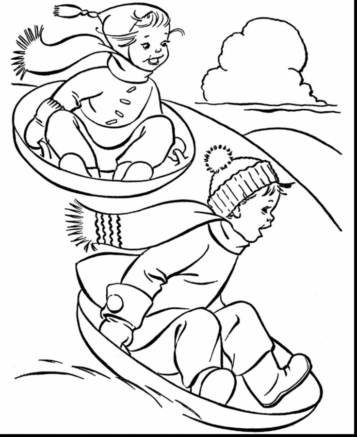 Happy December Coloring Sheets 24 (With images) | Coloring ...