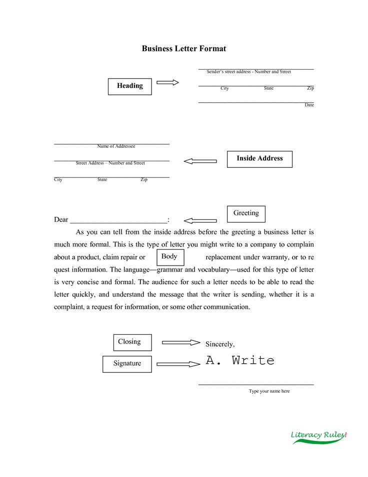 14 best Writing Formal images on Pinterest Formal, Teaching - copy informal letter format exercise