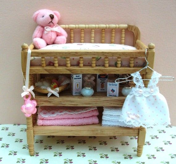 Changing Table For The Dollhouse Nursery