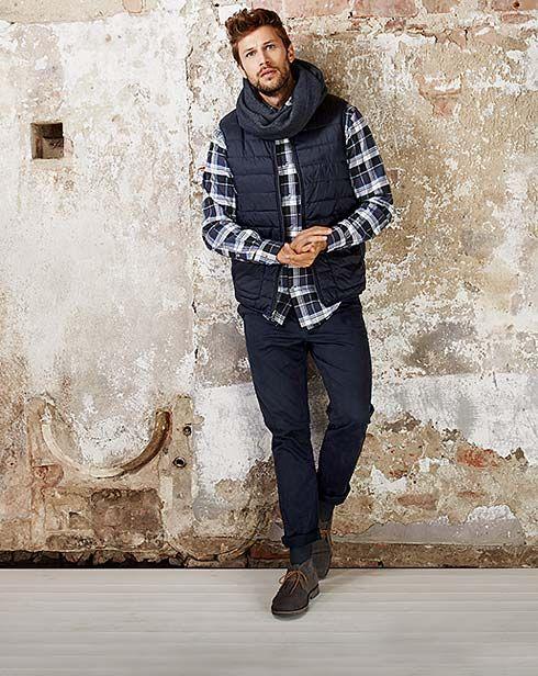 Ležérní podzimní móda pro stylové muže– v Tchibo