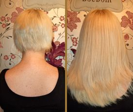 48 best fusion bondkeratin bond extensions images on pinterest from short to long with micro rings hair extensions visit our pmusecretfo Images