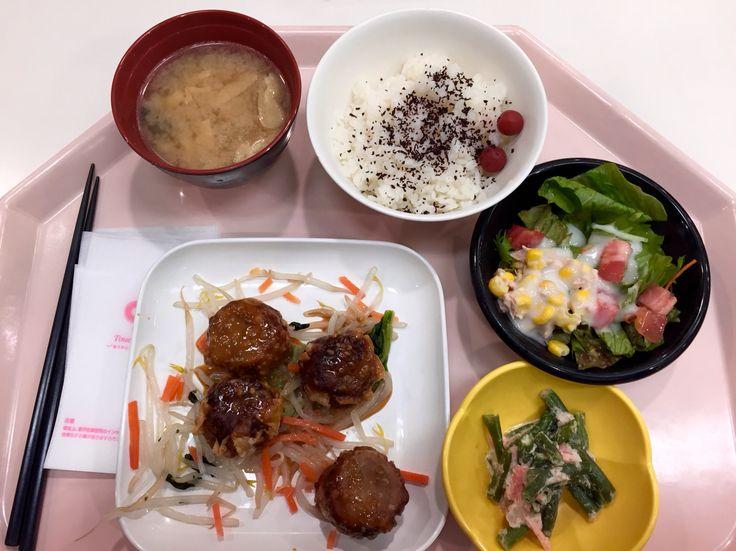 肉シュウマイランチセット514円也。