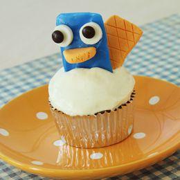 Perry Platypus Cupcake RecipeIdeas, Breads Recipe, Birthday Parties, Platypus Cupcakes, Cupcakes Recipe, Perry Cupcakes, Disney Cupcakes, Cupcakes Rosa-Choqu, Perry The Platypus