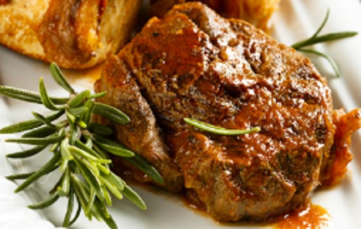 Recette : Osso Buco de porc aux champignons sauce brune de maman.