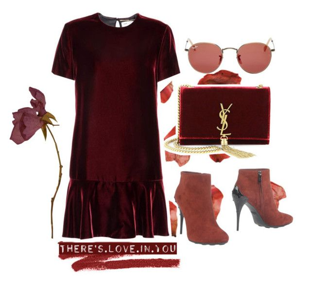 """Untitled #137"" by kryssicha on Polyvore featuring Bobbi Brown Cosmetics, Yves Saint Laurent, Ray-Ban and Tod's"