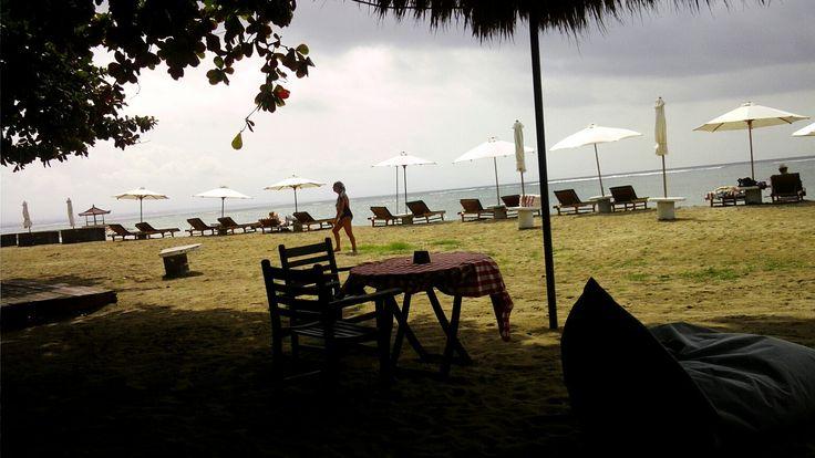 karang beach sanur bali