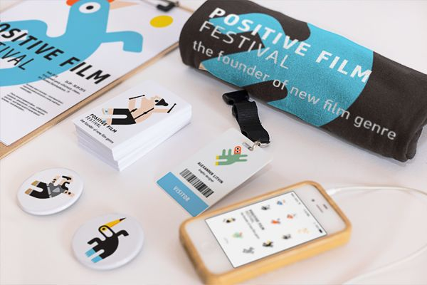 Positive Film Festival by SAATCHI & SAATCHI Ukraine on Behance